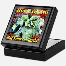 Home Grown By Master Gardener Keepsake Box