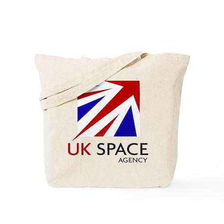 United Kingdom Space Agency Tote Bag