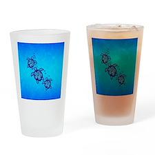 3 Hawaiian Honu Drinking Glass