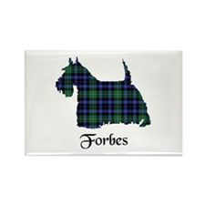 Terrier - Forbes dress Rectangle Magnet (10 pack)