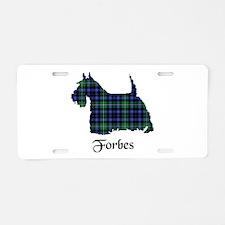 Terrier - Forbes dress Aluminum License Plate