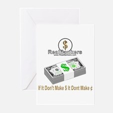 If It Dont Make Money Greeting Cards (Pk of 10