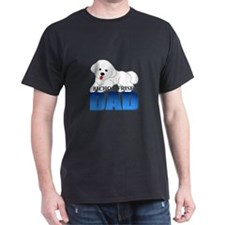 Bichon Frise Dad T-Shirt