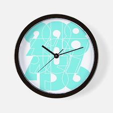 fuc_cnumber Wall Clock