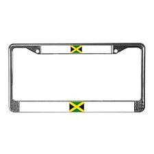 Flag of Jamaica License Plate Frame