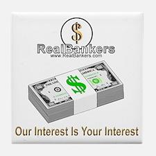 Banker Interest Tile Coaster