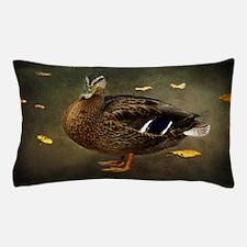 Autumn Duck Pillow Case