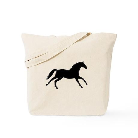 Black Mare, Horse Tote Bag