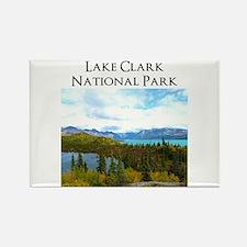Lake Clark National Park Rectangle Magnet Magnets