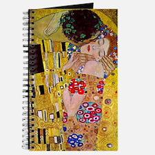 The Kiss detail, Gustav Klimt, Vintage Art Journal
