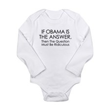 If Obama Is The Answer Body Suit