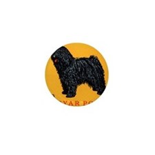 Vintage 1967 Hungary Puli Dog Postage  Mini Button