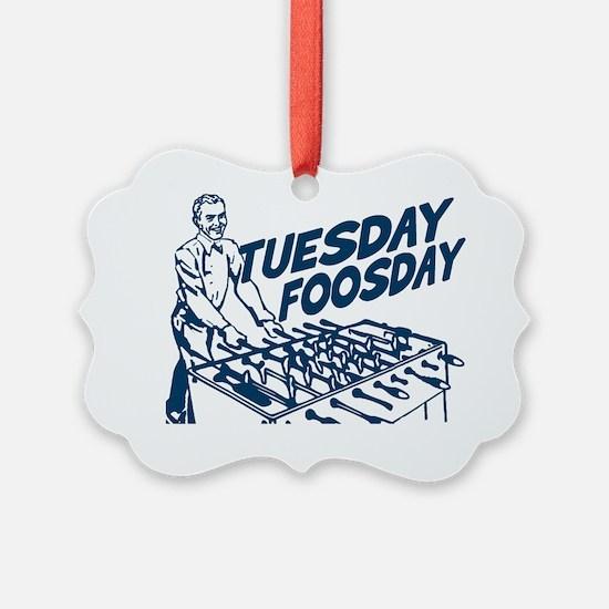 Tuesday Foosday Ornament