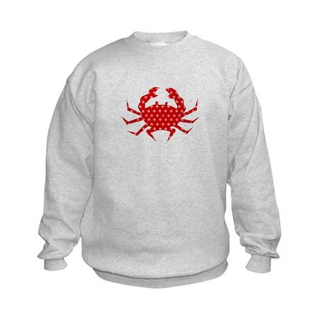 Red Crab Kids Sweatshirt