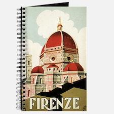 Vintage Firenze Italy Church Duomo Journal