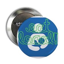 "Eat local! 2.25"" Button"