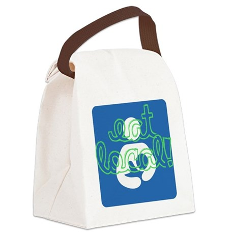 Eat local! Canvas Lunch Bag