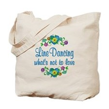 Line Dancing to Love Tote Bag