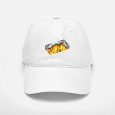Burning Money Baseball Baseball Cap