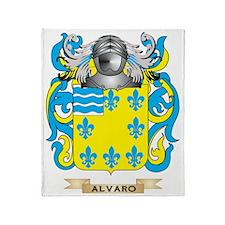 Alvaro Coat of Arms Throw Blanket