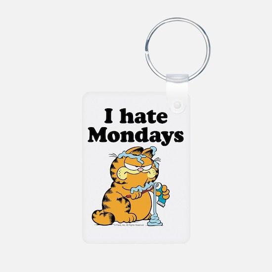 I Hate Mondays Aluminum Photo Keychain