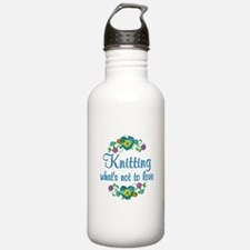 Knitting to Love Water Bottle