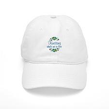 Knitting to Love Baseball Cap