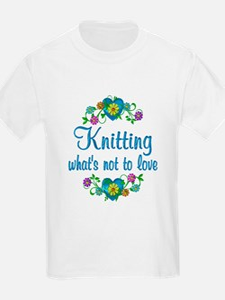Knitting to Love T-Shirt