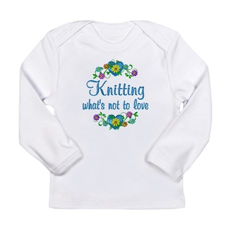 Knitting to Love Long Sleeve Infant T-Shirt