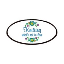 Knitting to Love Patches