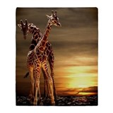 Giraffe Fleece Blankets