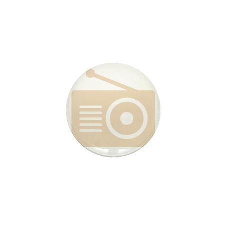 Old School Radio Shirt Mini Button