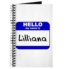 hello my name is lilliana Journal
