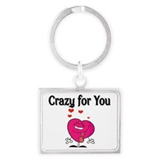 CRAZY FOR YOU 2 Landscape Keychain