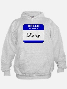 hello my name is lillian Hoodie