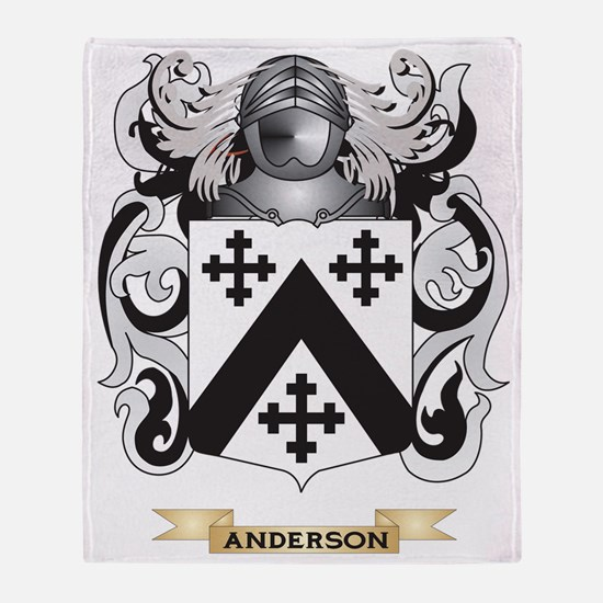 Anderson Coat of Arms Throw Blanket