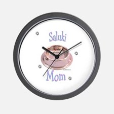 Saluki Mom Wall Clock