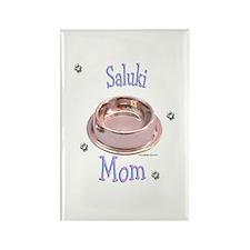 Saluki Mom Rectangle Magnet