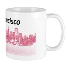 SanFrancisco_12.125x6.125_LicencePlate_ Mug