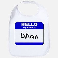 hello my name is lilian  Bib
