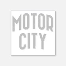 "Motor City dark 2800 x 2800 Square Sticker 3"" x 3"""
