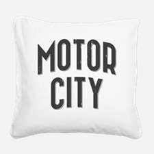 Motor City 2800 x 2800 copy Square Canvas Pillow