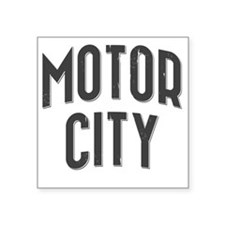"Motor City 2800 x 2800 copy Square Sticker 3"" x 3"""
