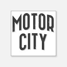 "Motor City 2800 x 2800 copy Square Sticker 3"" x 3"""