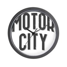 Motor City 2800 x 2800 copy Wall Clock