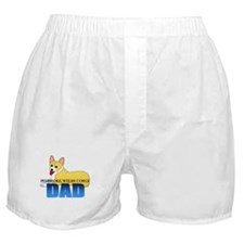 Pembroke Welsh Corgi Dad Boxer Shorts