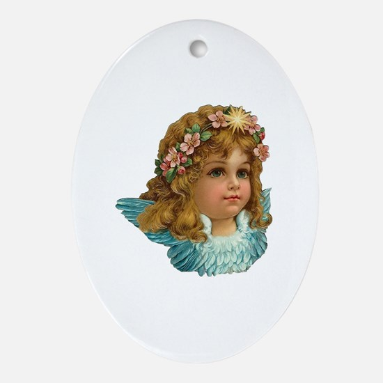 Cute Old world christmas Oval Ornament