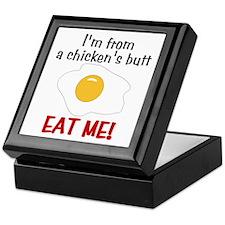 Chicken's Butt Keepsake Box