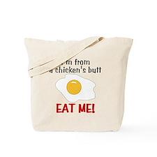 Chicken's Butt Tote Bag