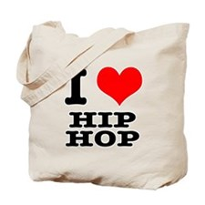 I Heart (Love) Hip Hop Tote Bag